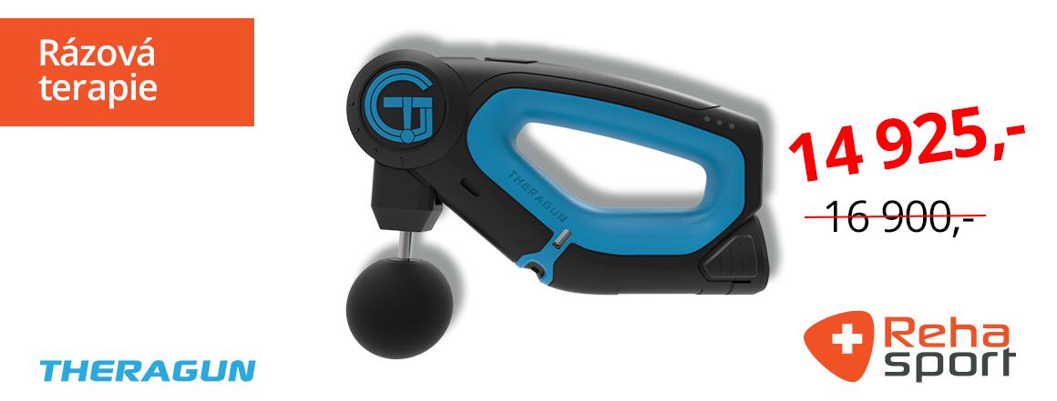 TheraGun - masážní vibrační přístroj