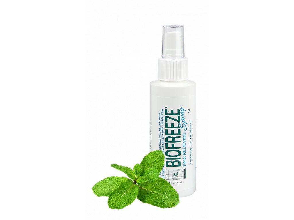 Biofreeze Spray - Sprej proti bolesti na bázi přírodního mentolu