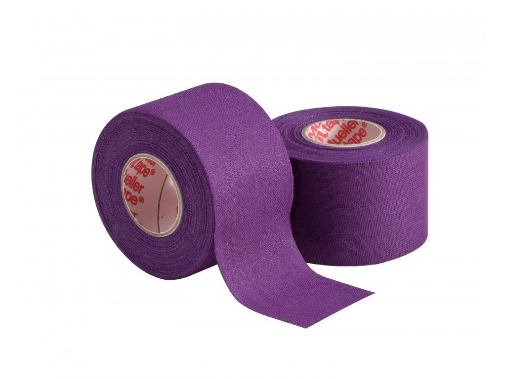 Mueller MTape® Team Colors, fixační tejpovací páska 3,8cm, fialová