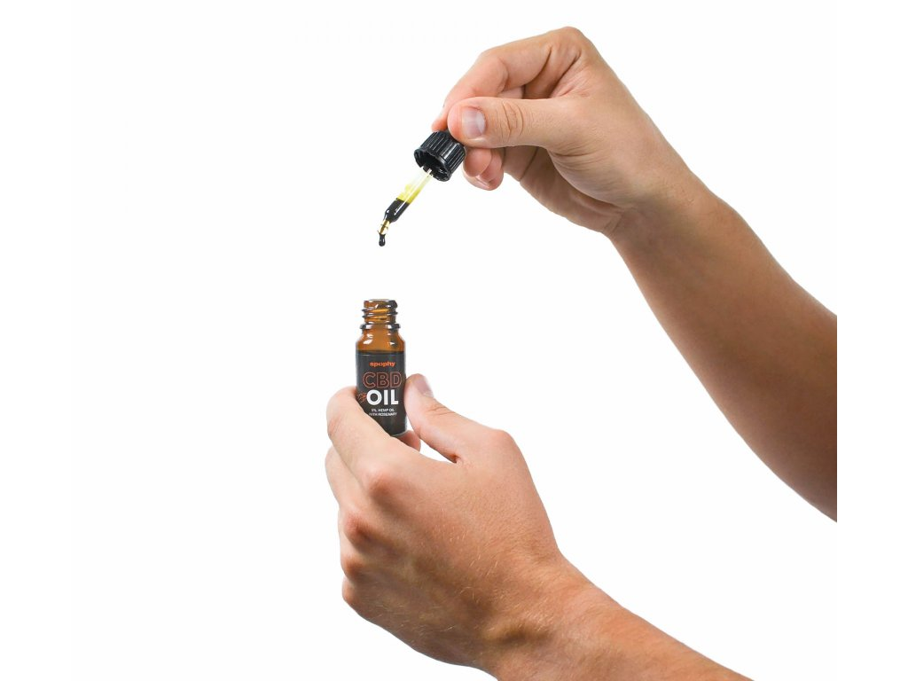 Spophy CBD Oil, CBD olej z rozmarýnem