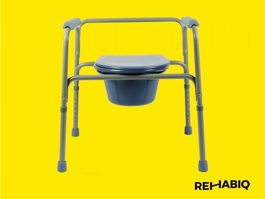 Rehabiq Toaletní křeslo, široké