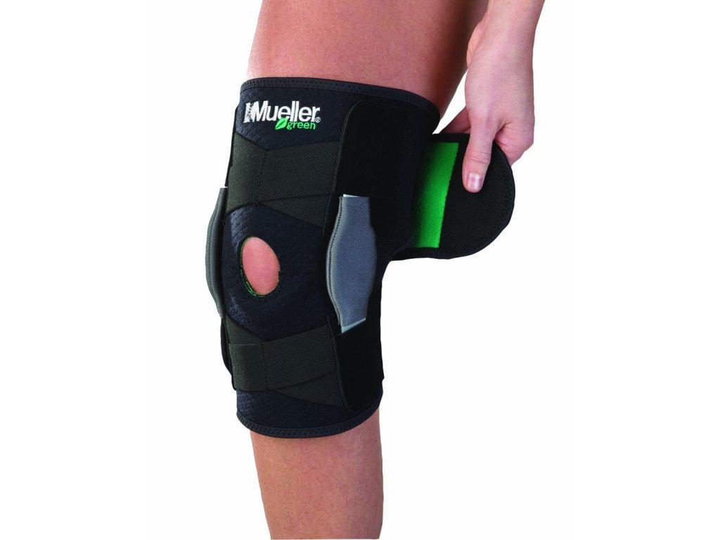 Mueller® Green, Adjustable Hinged Knee Brace,  ortéza na koleno, univerzální