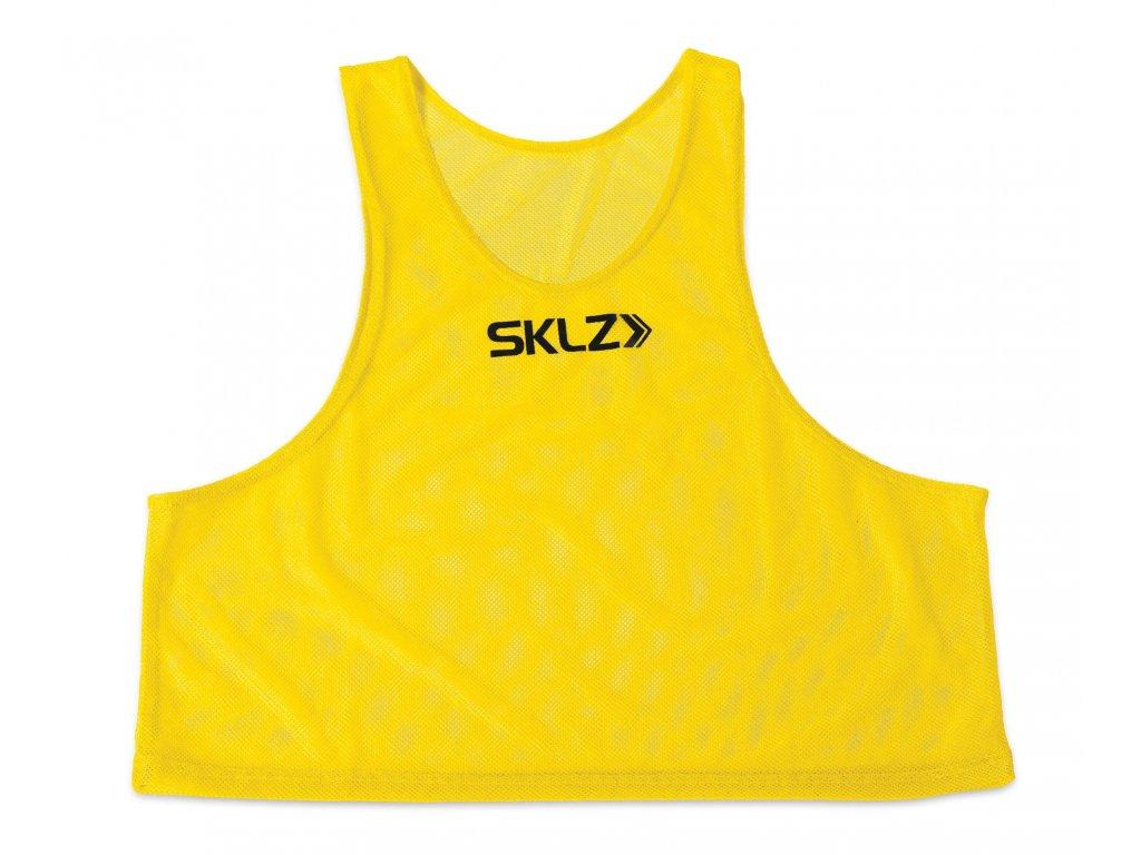 SKLZ Training Vest (Yellow - Adult), žlutý rozlišovací dres pro dospělé