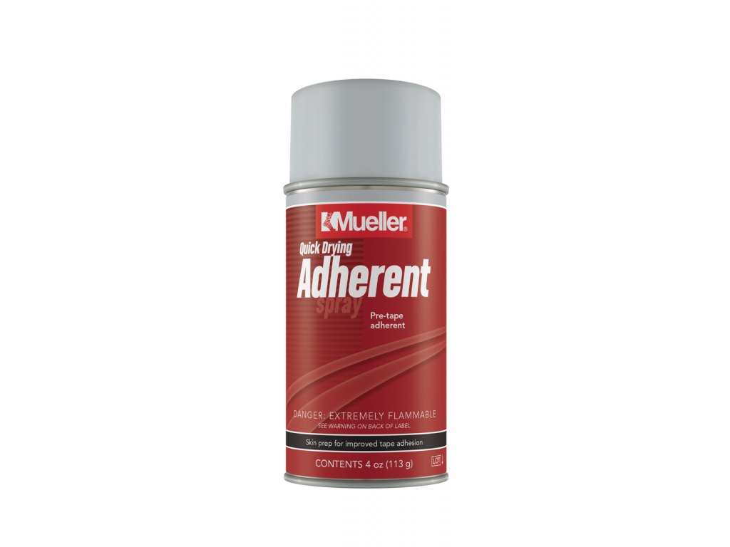 Mueller Quick Drying Adherent Spray (Q.D.A.), aerosolový sprej, malý 118 ml