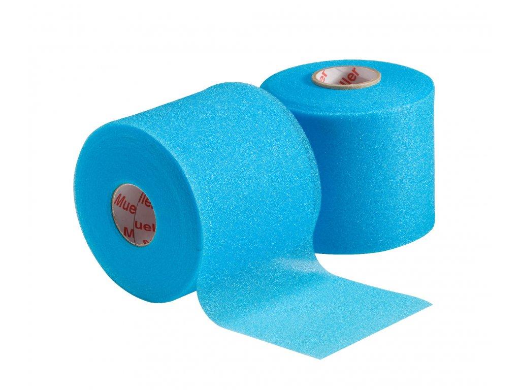Mueller MWrap® Colored, podtejpovací molitanová páska světle modrá 7 cm x 27,4 m