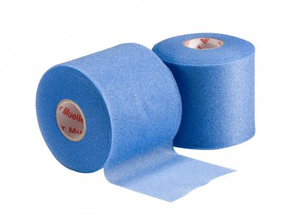 Mueller Mwrap® Colored, podtejpovací molitanová páska modrá 7 cm x 27,4 m
