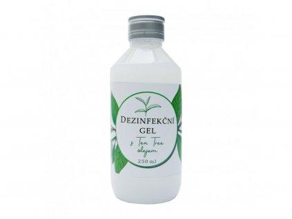 Dezinfekční gel na ruce s Tea Tree olejem - 250 ml