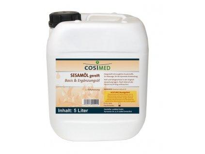 cosiMed základní olej Sezam (kbA) - 5000 ml