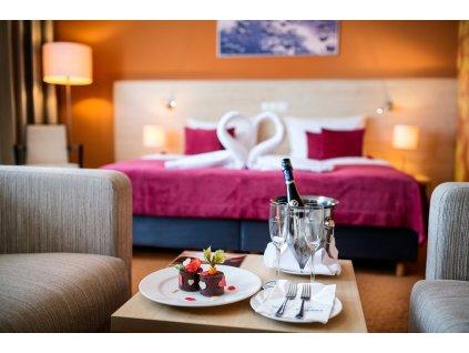 Ubytování v Aquapalace Hotel - Dvoulůžkový Superior