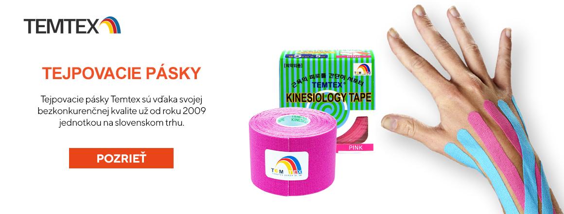 Tejpovacie pásky Temtex