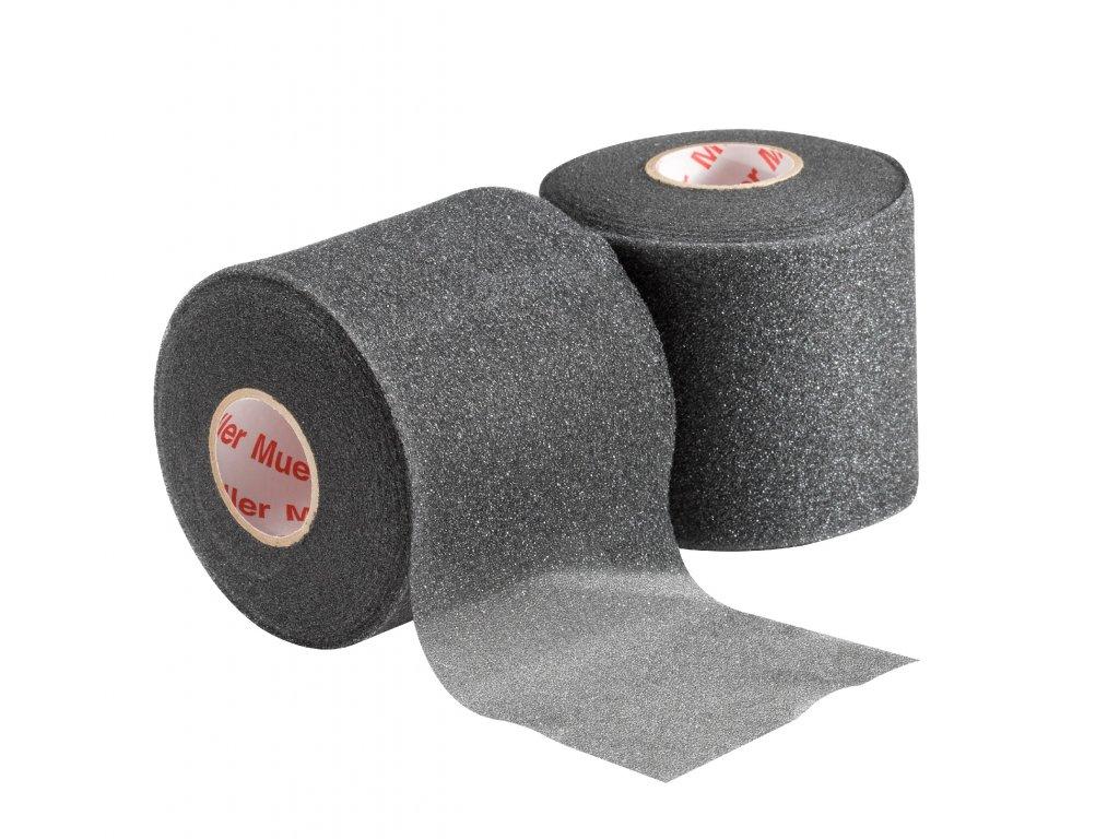 Mueller MWrap® Colored, podtejpovací molitanová páska černá 7 cm x 27,4 m