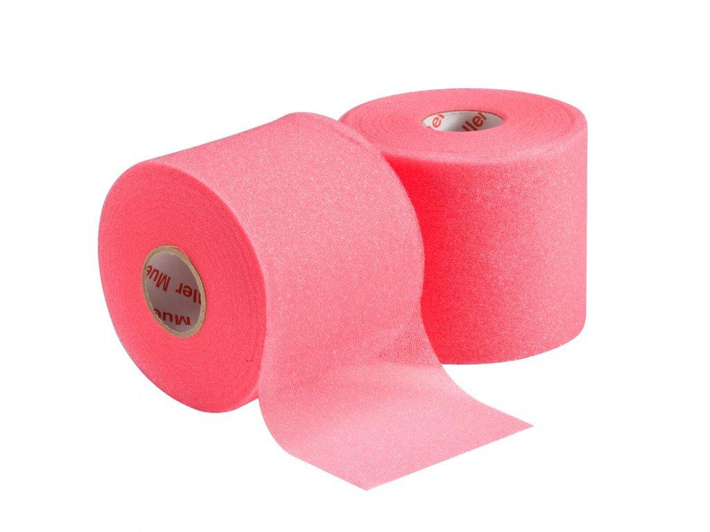 Mueller MWrap® Colored, podtejpovací molitanová páska růžová 7 cm x 27,4 m