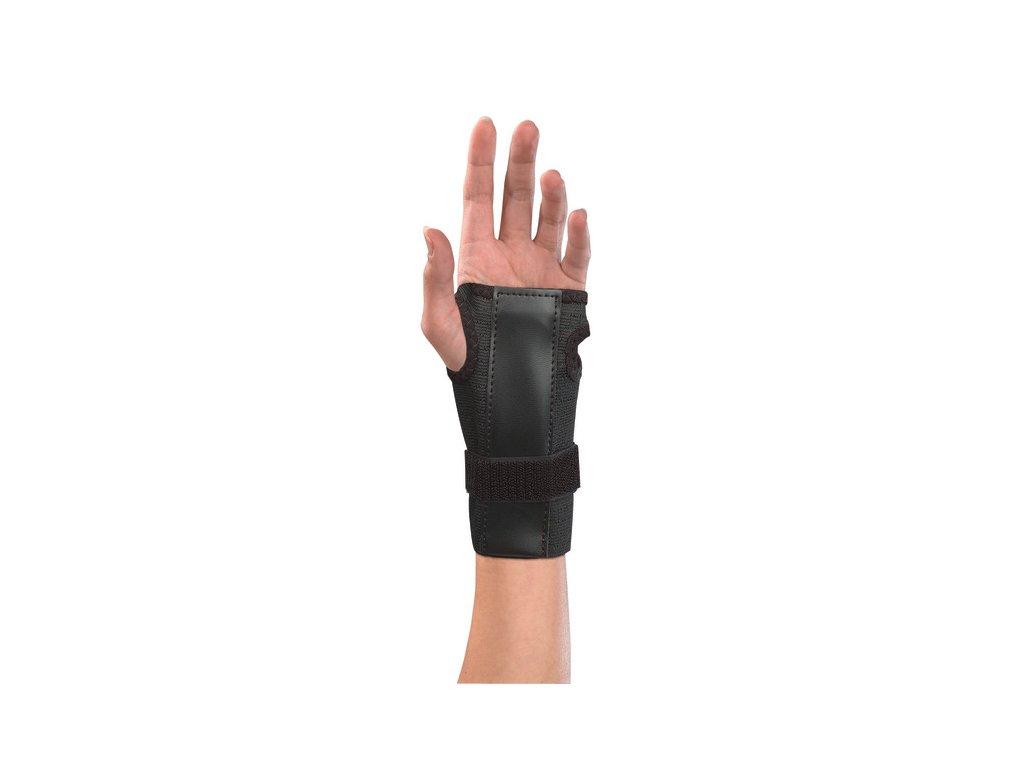 Mueller Adjustable Wrist Brace má fixační pásek na suchý zip
