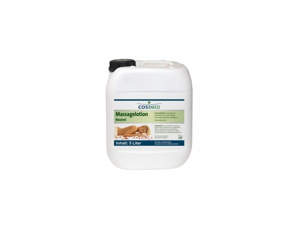 cosiMed masážní emulze Neutral - 5000 ml