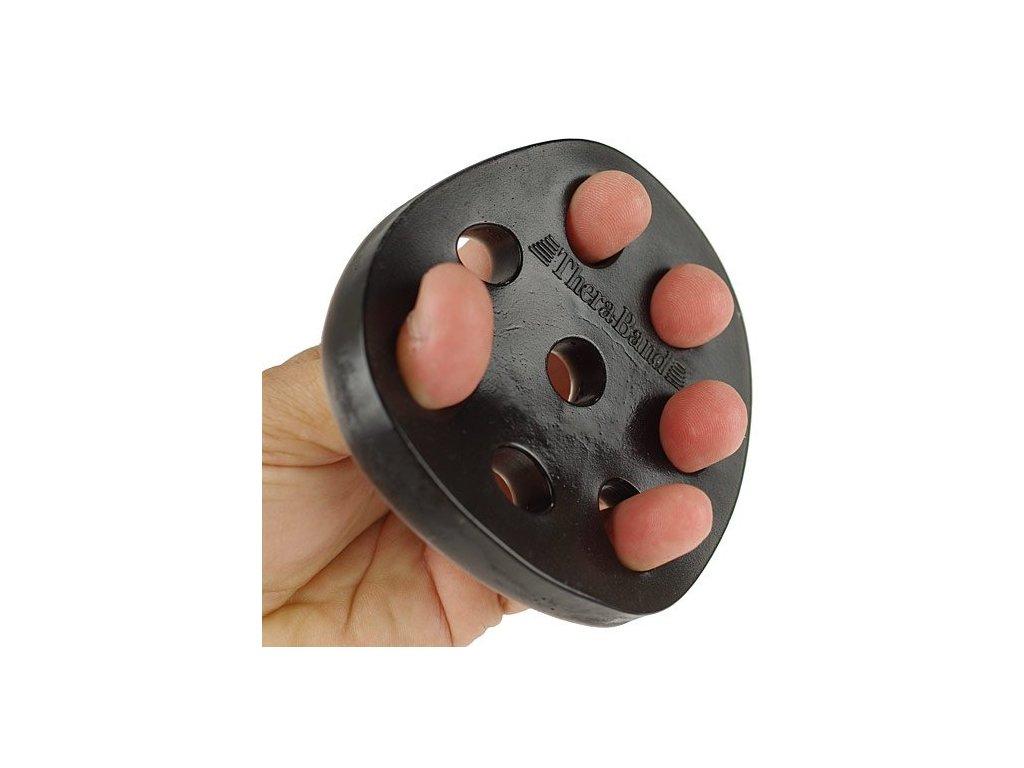 THERA-BAND Hand Xtrainer - posilňovač prstov a dlane, čierny – extra tuhý