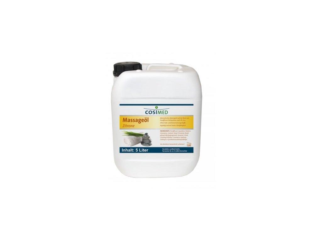 cosiMed masážní olej Citrón - 5000 ml