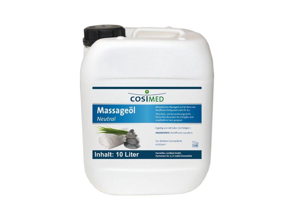 cosiMed masážní olej Neutral - 10 l
