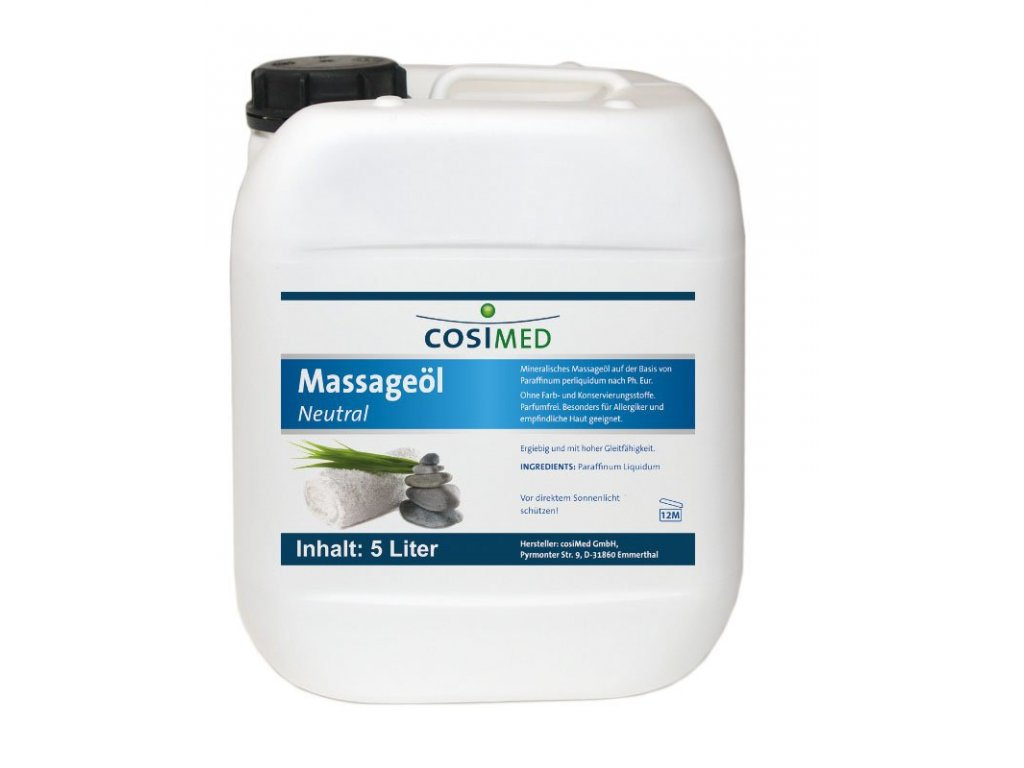 cosiMed masážní olej Neutral - 5000 ml