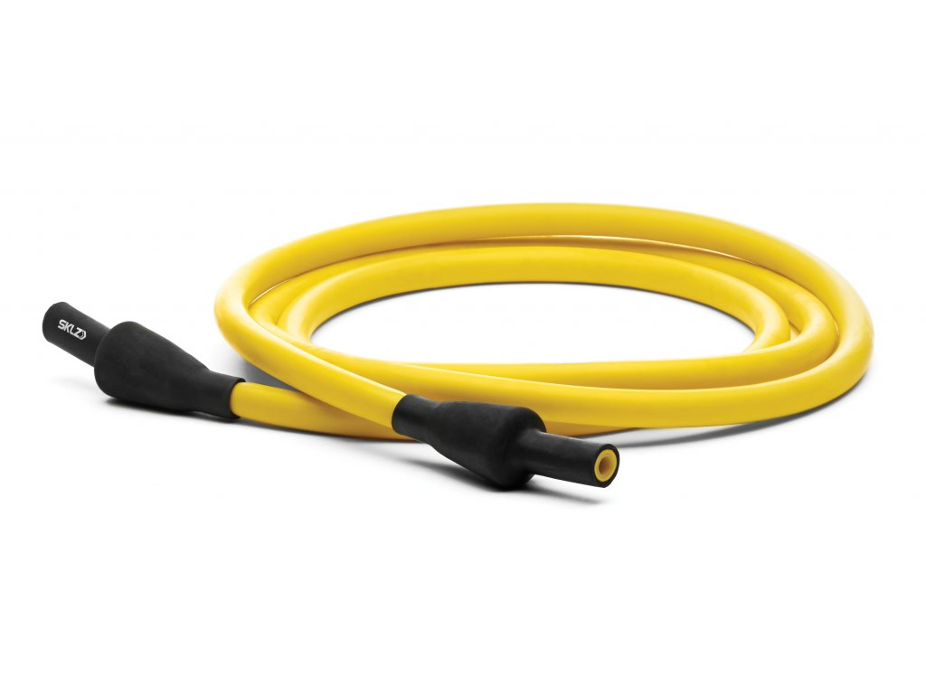 SKLZ Training Cable Extra Light, odporová guma žlutá, extra slabá 4 kg - 9 kg