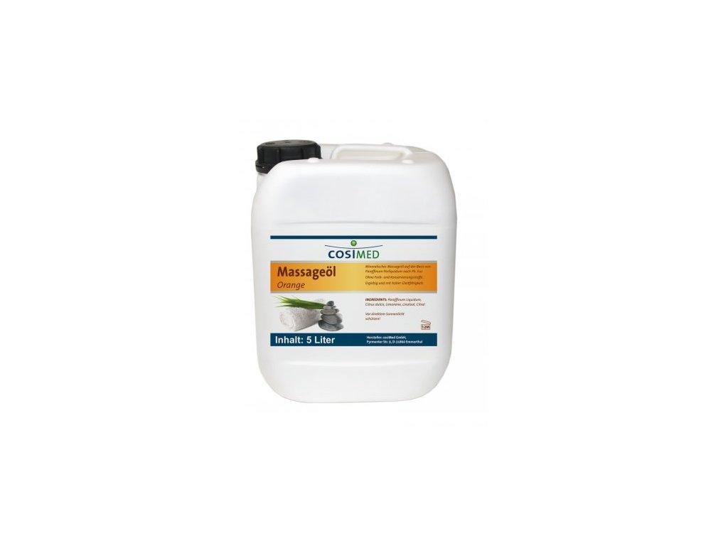 cosiMed masážní olej Pomeranč - 5000 ml