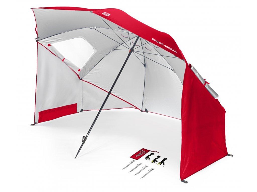 SKLZ Sport-Brella - Red, sportovní deštník červený