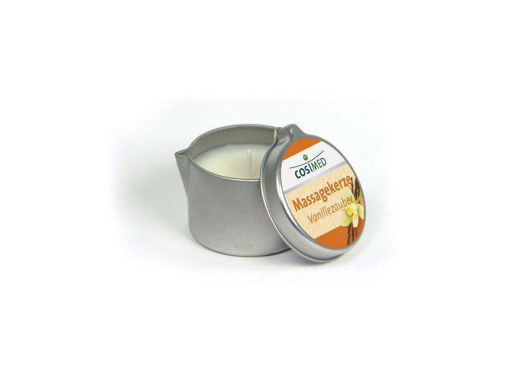 cosiMed masážní svíčka Vanilka - 40 g