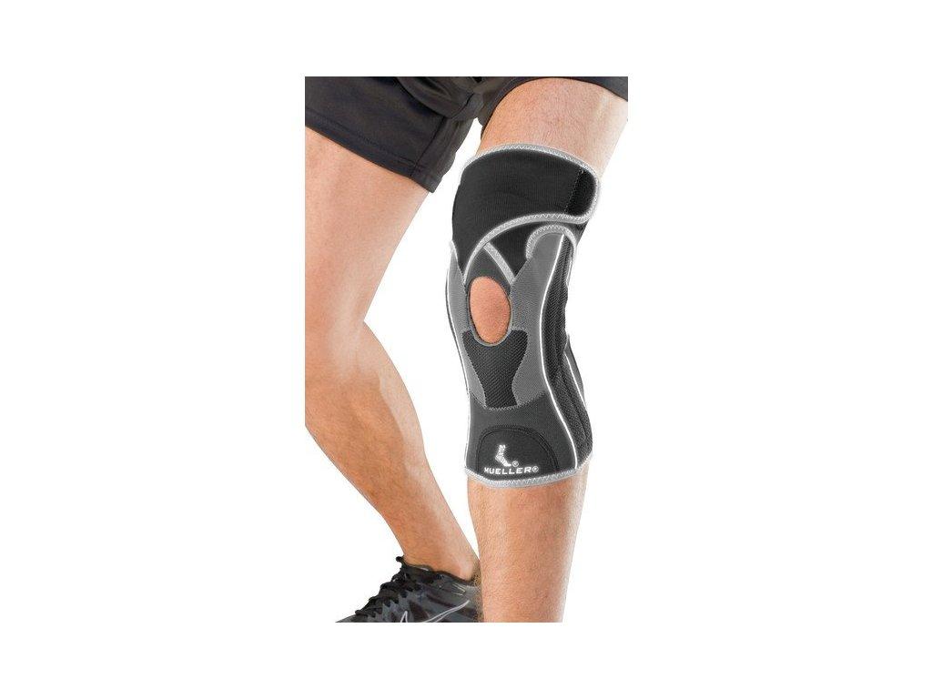 MUELLER Hg80® Premium Knee Brace, kolenní ortéza (Velikost XL)