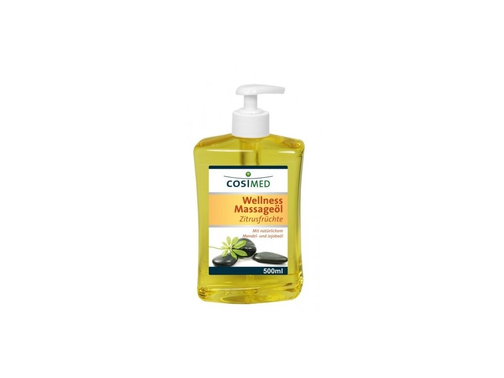 cosiMed wellness masážní olej Citrusy - 500 ml