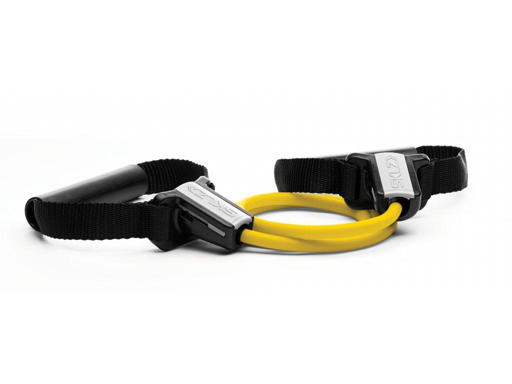 SKLZ Resistance Cable set Extra Light, Odporová žltá guma s držadlami (extra slabá)