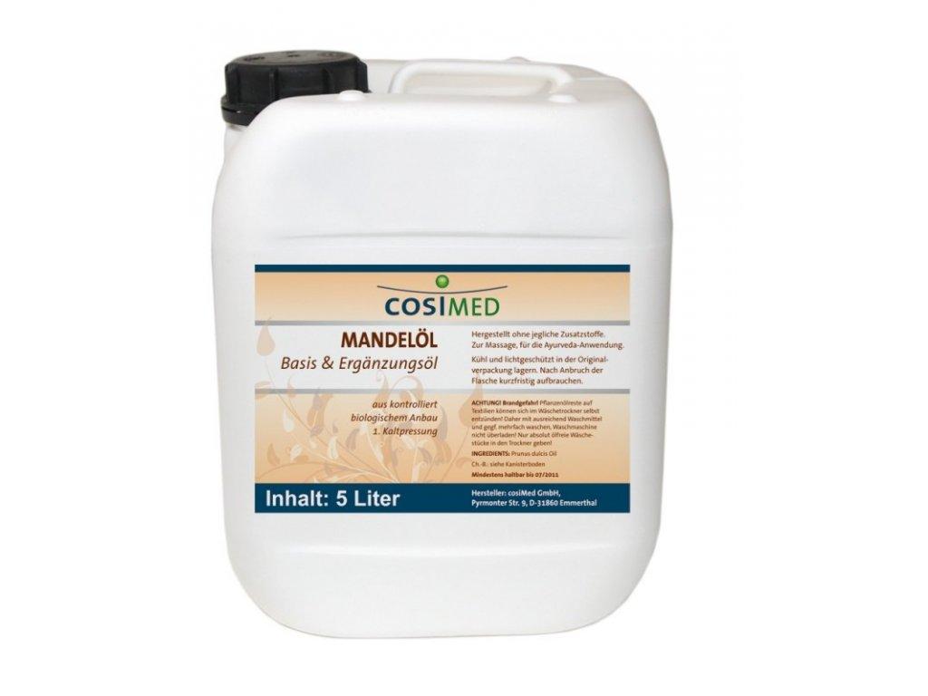 cosiMed základní olej Mandle - 5000 ml