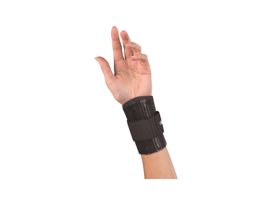 Mueller Reinforced Wrist Brace, ortéza na zápěstí, černá