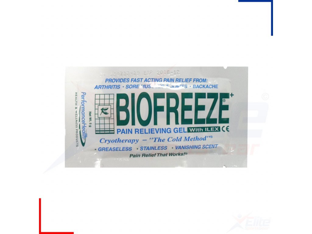 Biofreeze Gel 5 ml vzorek