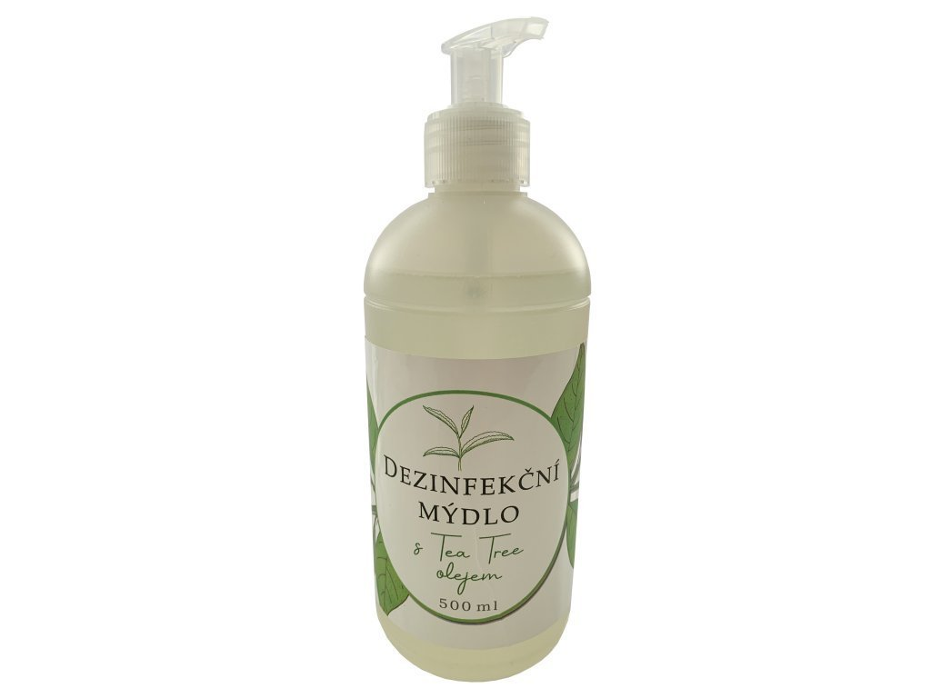 dezinfekčné mydlo s Tea tree olejom