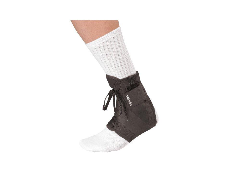 Mueller Soft Ankle Brace w/Straps, ortéza na členok