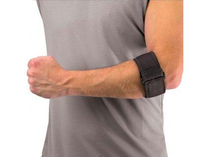 Mueller Tennis Elbow Support w/Gel Pad, pásek na tenisový loket s gelovým polštářkem