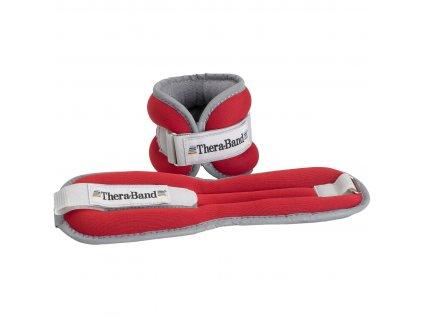 THERA-BAND set tréningových závaží, 450 g, červený