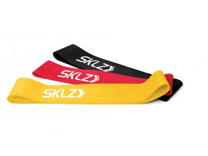 SKLZ Mini Bands, posilňovacie tréningové slučky set (rôzne záťaže)