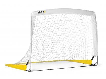 SKLZ Goal-EE, prenosná futbalová bránka 1,2 m x 0,9 m (biela)