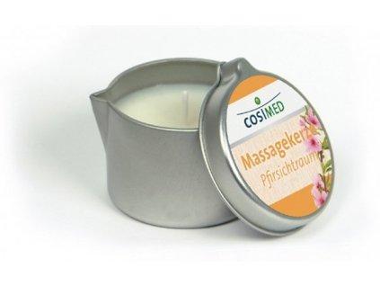 cosiMed masážní svíčka Broskev - 40 g