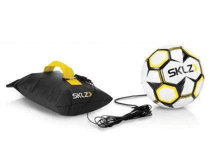 SKLZ Kick Back, futbalová lopta na gume so základňou, veľkosť 5