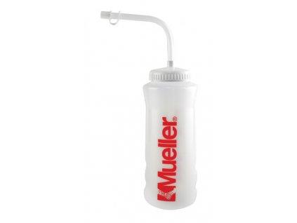 športová fľaša so slamkou pre pohodlné pitie pri športe
