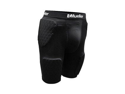 Mueller Diamond Pad 5 Pieces Shorts, funkční šortky s chrániči