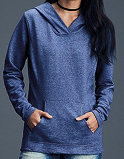Women`s Crossneck Hooded Sweatshirt  G_A72500L