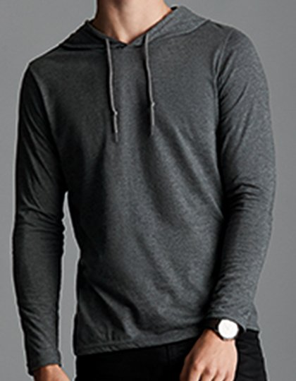 Lightweight Long Sleeve Hooded Tee  G_A987