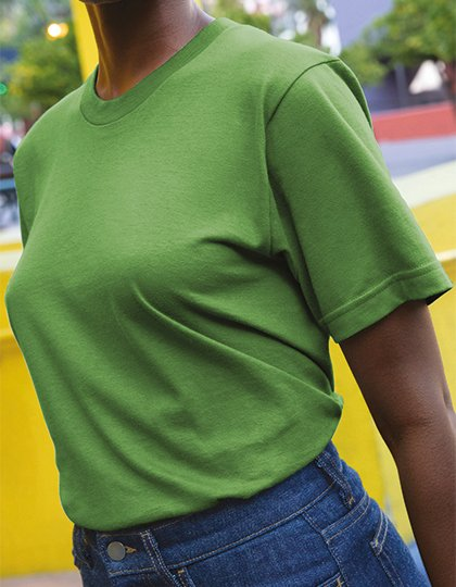 Unisex Organic Fine Jersey Short Sleeve T-Shirt  G_AM2001ORG