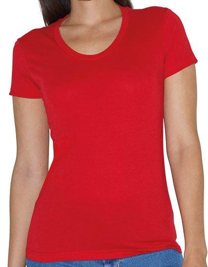 Women`s Poly-Cotton Crew Neck T-Shirt  G_AM3010