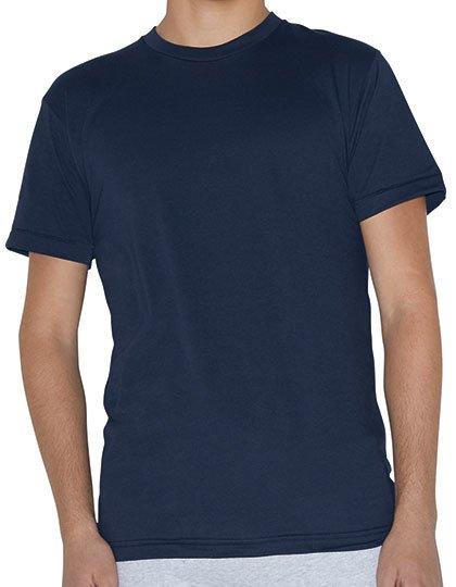 Unisex Poly-Cotton Short Sleeve Crew Neck T-Shirt  G_AM4010