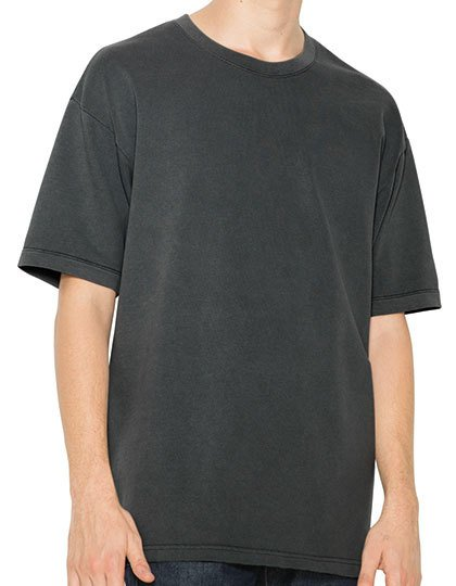 Unisex French Terry Garment Dyed T-Shirt  G_AM402
