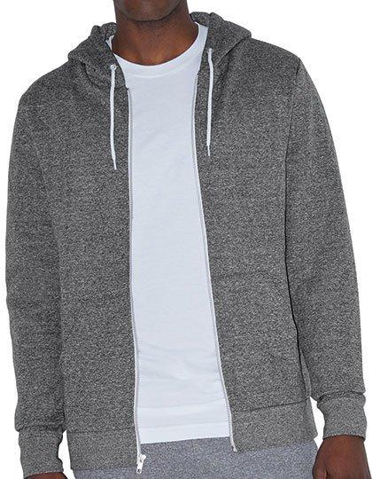 Unisex Mock Twist Zip Hooded Sweatshirt  G_AM4970