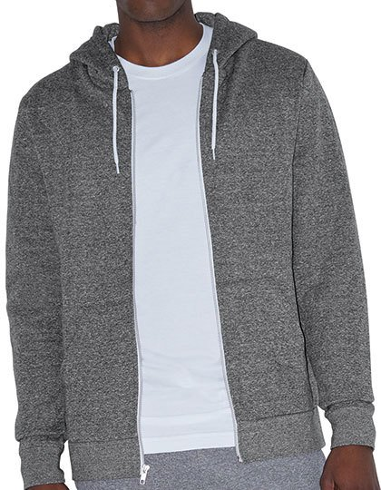 Unisex Mock Twist Zip Hooded Sweatshirt  G_AM4970